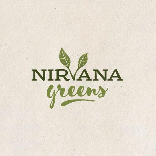 Logo for Nirvana Greens