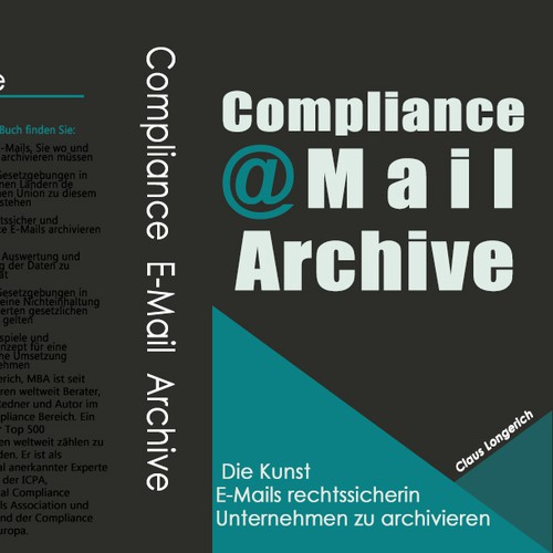 Create a stunning book cover for an E-Mail Compliance book!