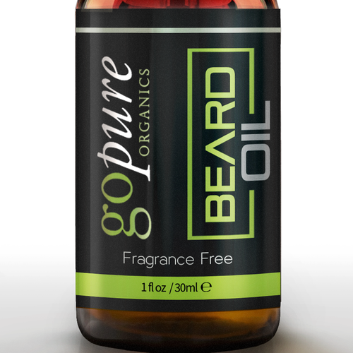 Create a High End Label for an All Natural Beard Oil!