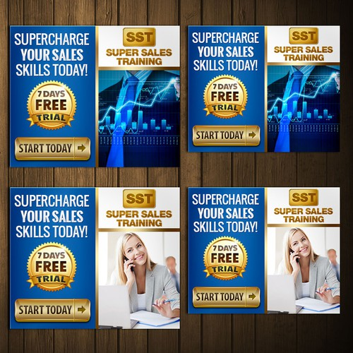 Online Banner Ad for Top Sales Training Company