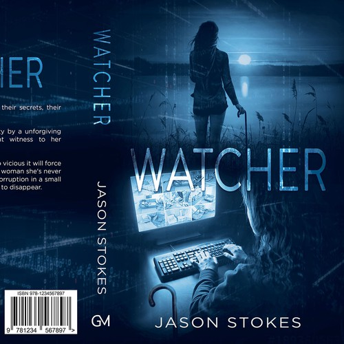 cover for a Mystery/Thriller 'Watcher.