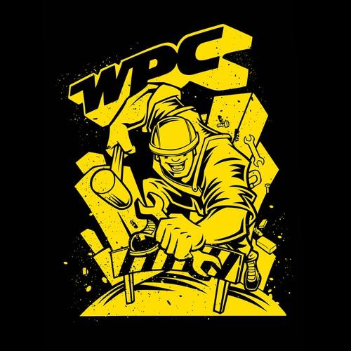 WPC running t-shirt