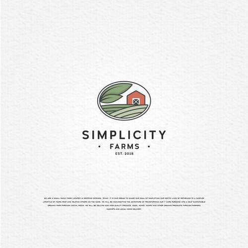 Simple farm design