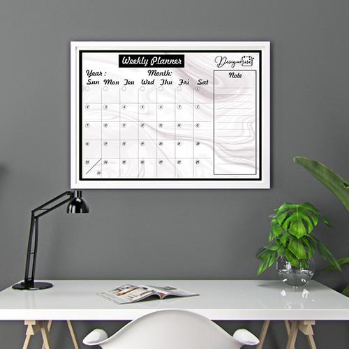 Product Design For Nice Dry Erase Calendar
