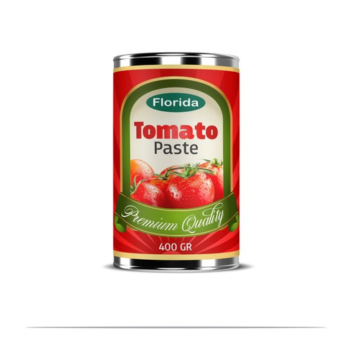Florida Tomato paste new label needed