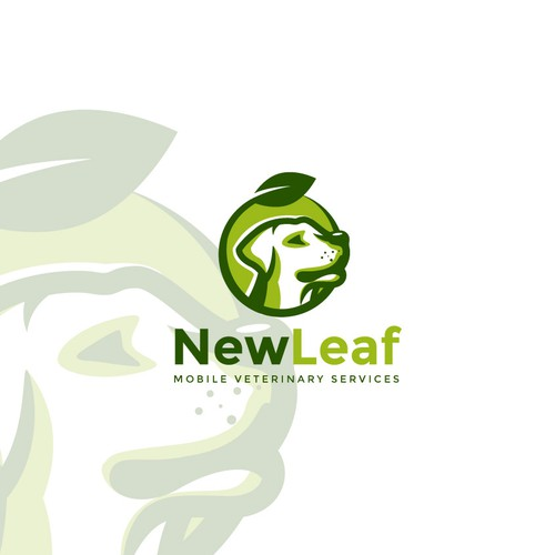 "Logo design for ""New Leaf"""