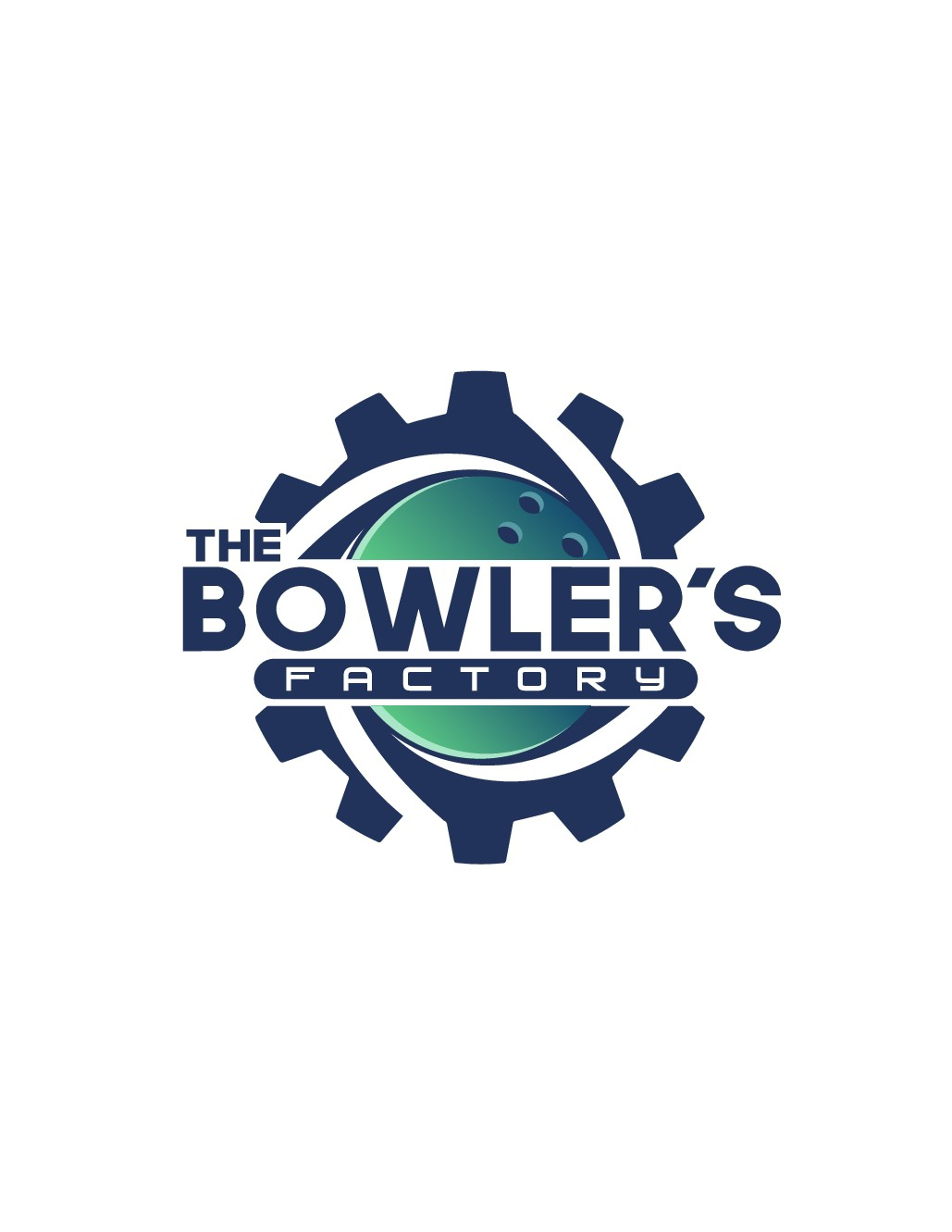 Design a vibrant funky attractive logo for our Tenpin Bowling business - The Bowler's Factory
