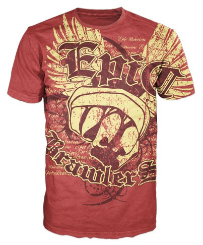Help EPIC BRAWLERS shake up the sports clothing world. We will pick SEVERAL WINNERS.