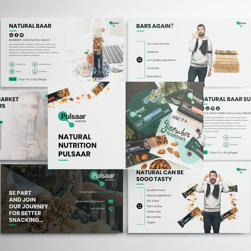 PowerPoint Presentation for Snack Brand