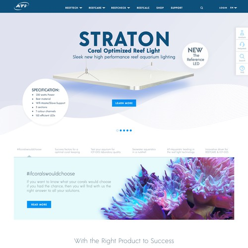 Aquarium Products Web