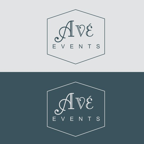 Create a SIMPLY STUNNING logo for our beautiful, high quality events company