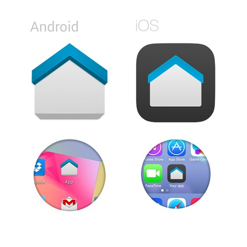 Icon for a mortgage app