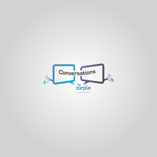 Create a fun, unique logo for Conversations.