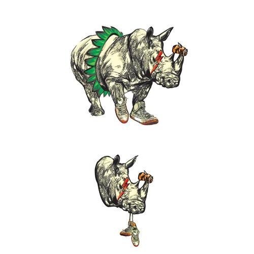 Rhino wild beer