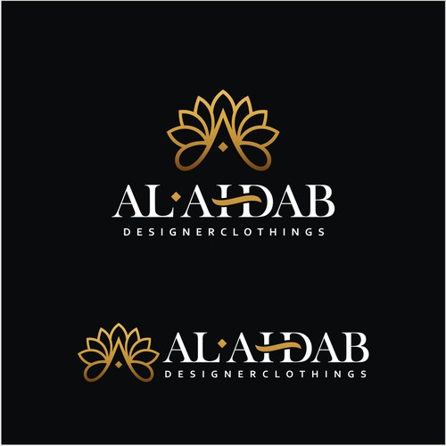 Logo for Dubai based Fashion Store. Brand Mark for traditional clothings