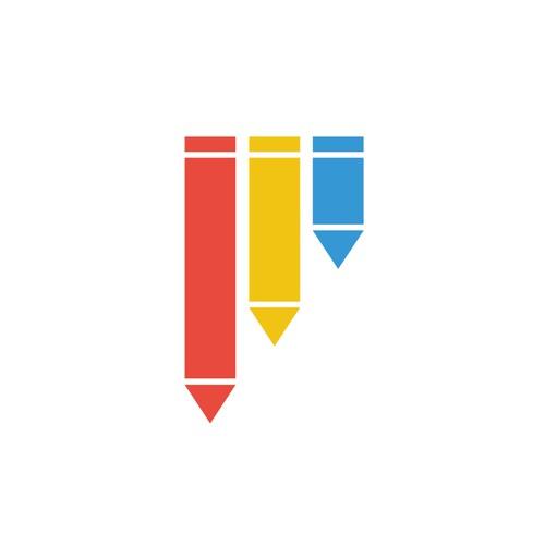 Colourful Pen Logo
