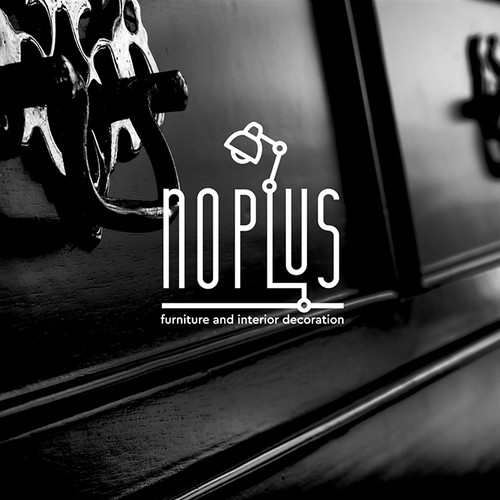 interior and furniture decoration logo for NOPLUS