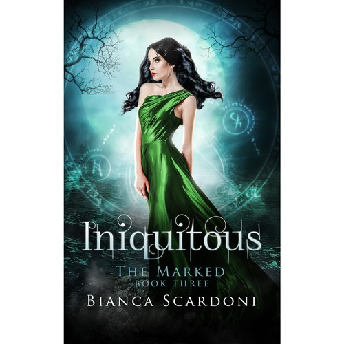 Book cover design for Iniquitous