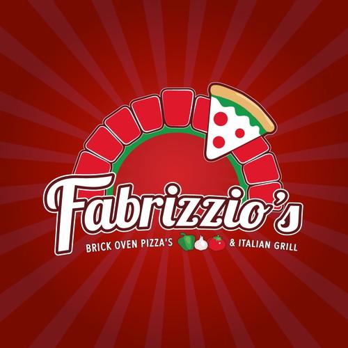 Logo for Brick oven pizza's