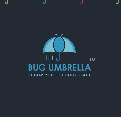 "Eye catching and attractive Logo for ""The Bug Umbrella"""
