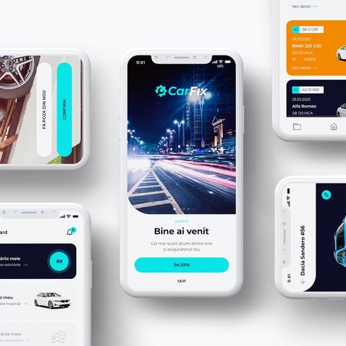 CarFix App - Modern Design