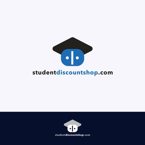 Student discount shop Logo Design