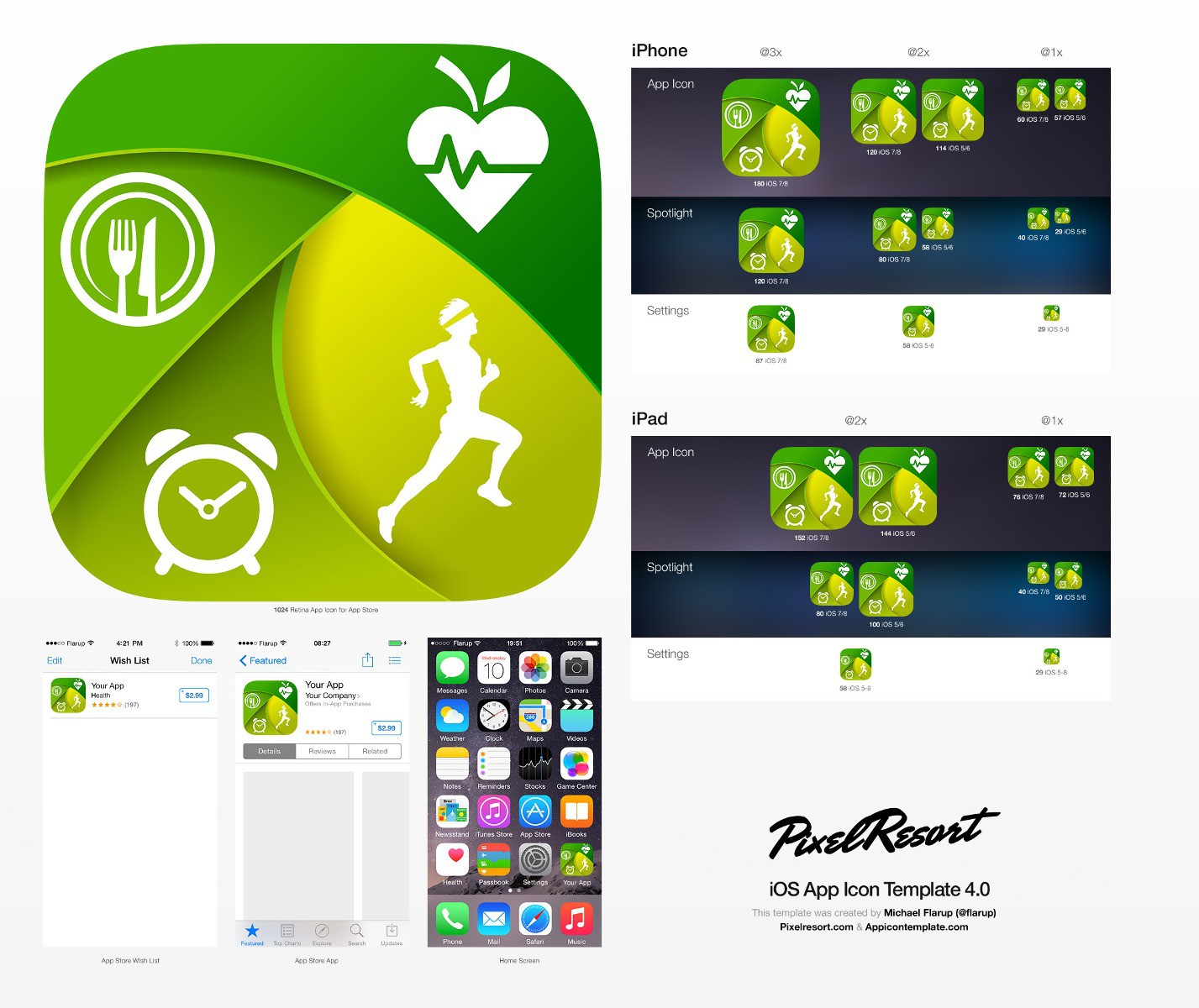 Create a sleek and intuitive app icon for a Health & Fitness app.