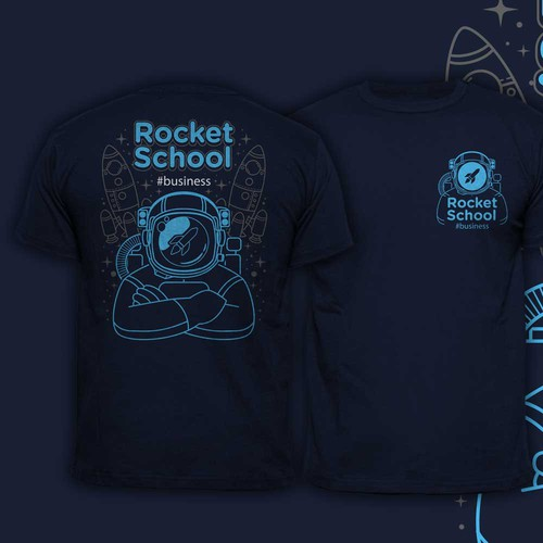 Astronaut rocket school