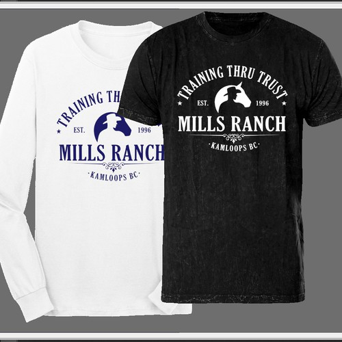 T-shirt/Hoodie Design for Horse Ranch