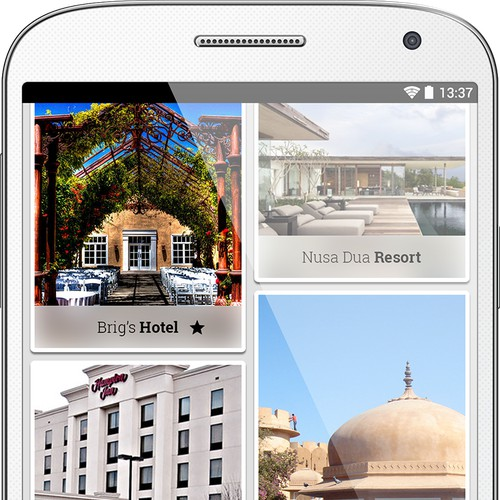 Create a winning design for an amazing city audioguide mobile app