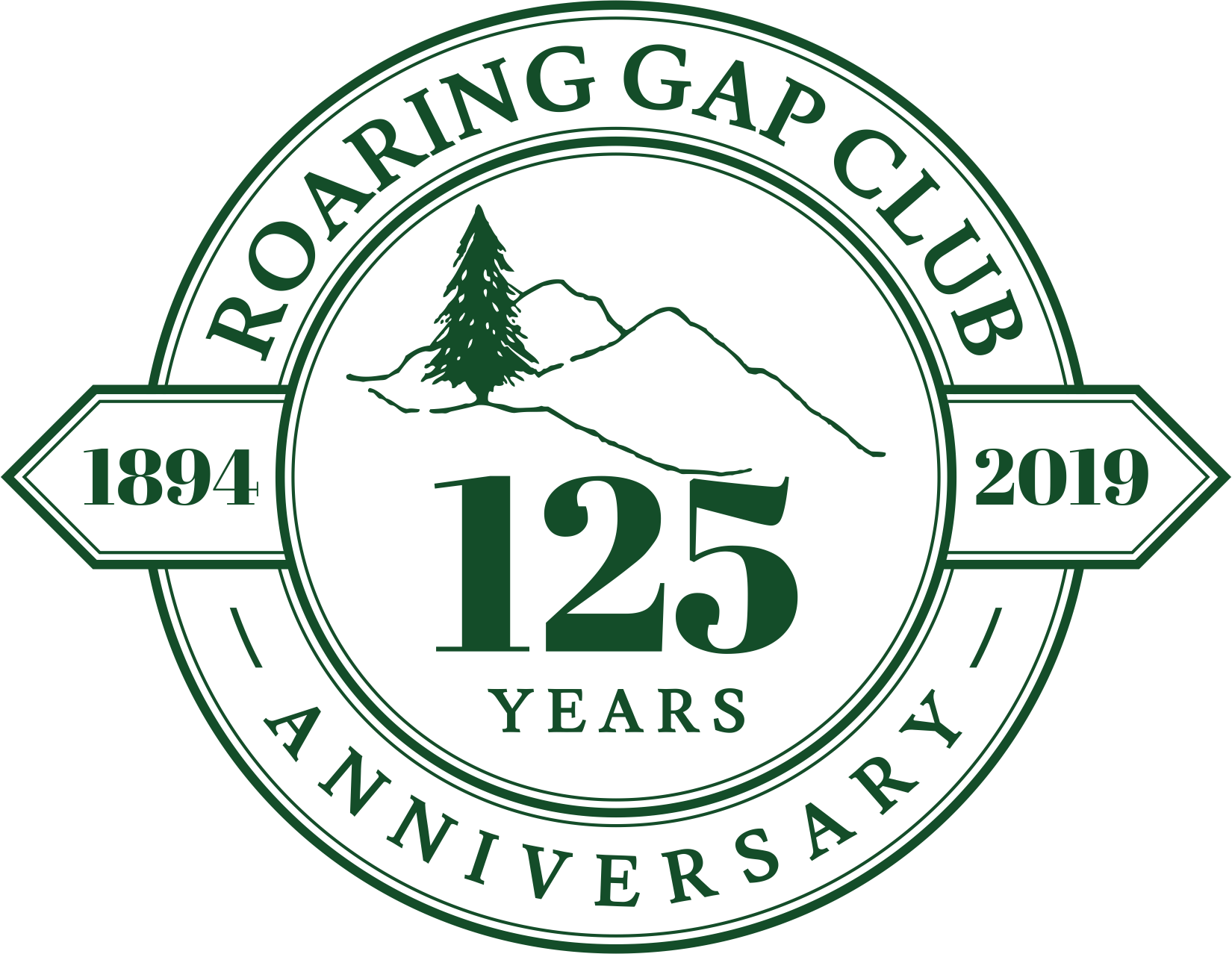 Create a Logo Design for a Country Club's 125 Anniversary