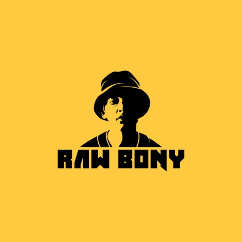 logo for raw bony