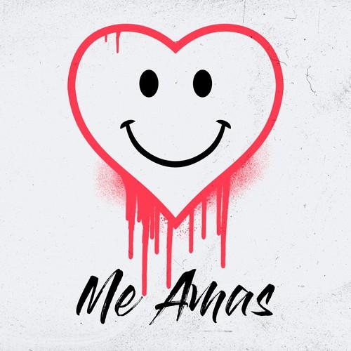 """封面艺术单歌曲轨道""""我是amas"""""""