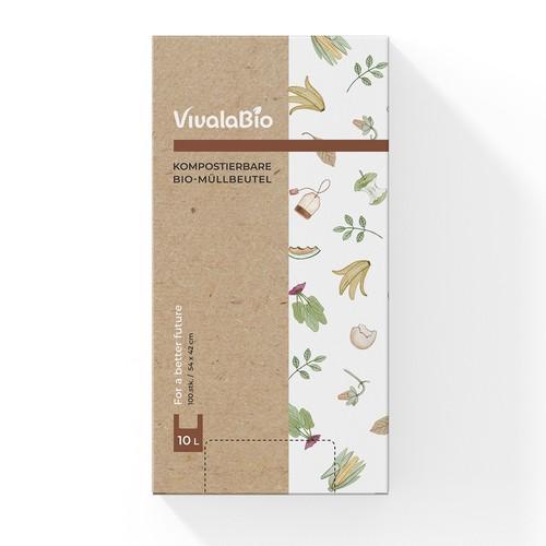 Packaging design for VivalaBio