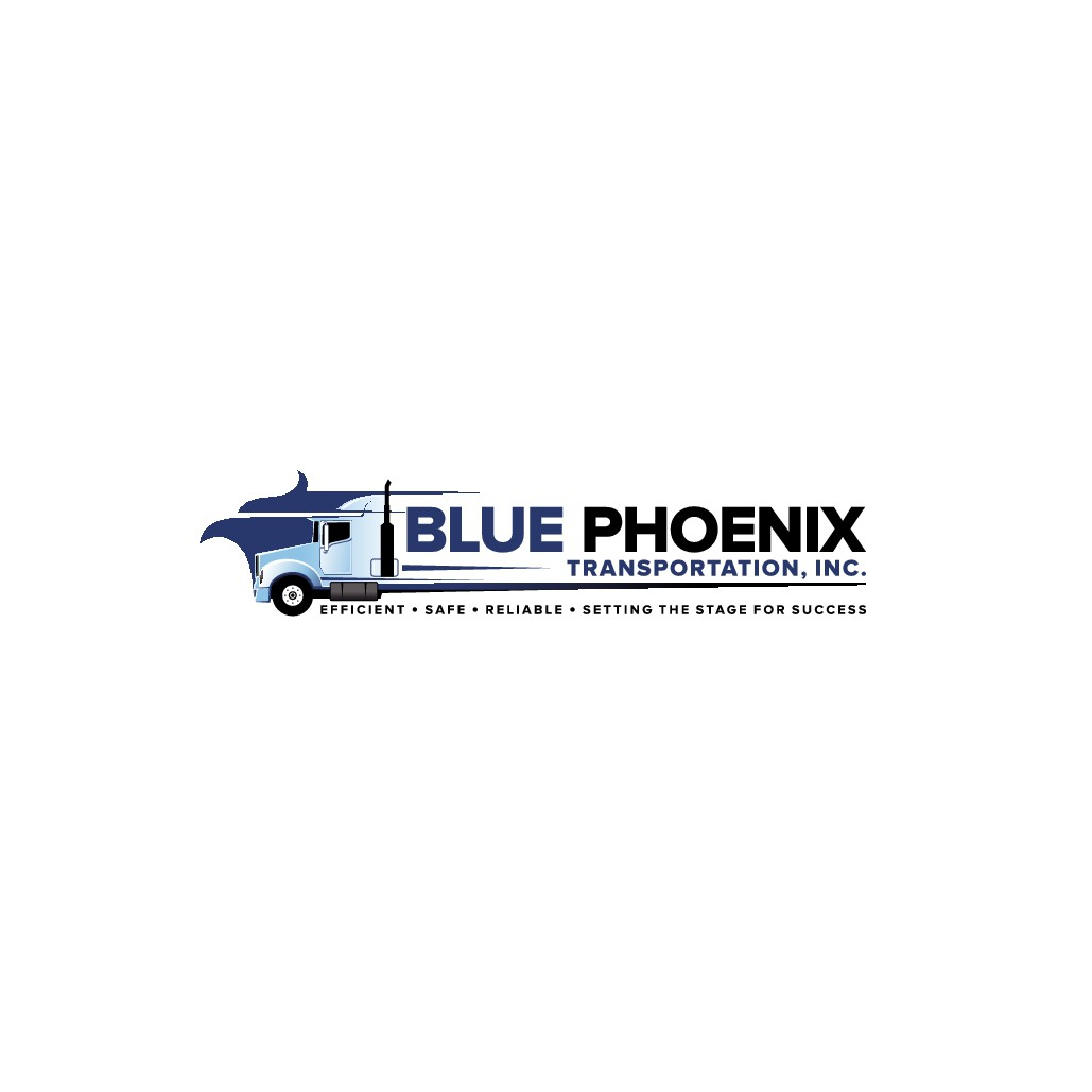 """""""Blue Phoenix Transportation, Inc. needs a sophisticated top of the line logo for the corporation"""""""