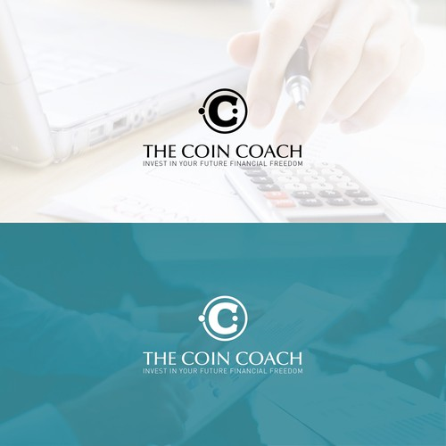 Logo design for an online crypto coach