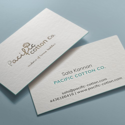 Cute cotton pub, Logo and Business card project