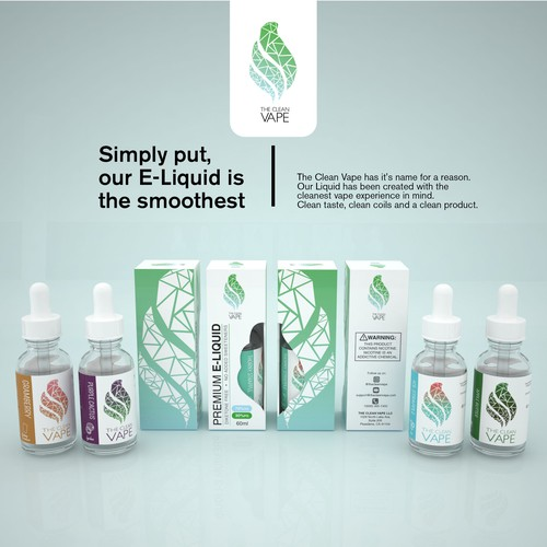 PRODUCT PACKAGING FOR CLEAN VAPE