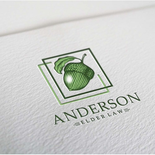 A logo concept for a law firm