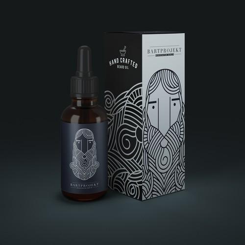 Branding & Packaging for a Beard Oil start up.