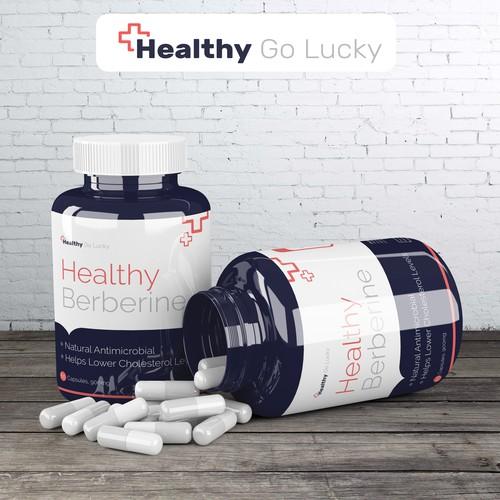 Healthy Berberine - Package Design