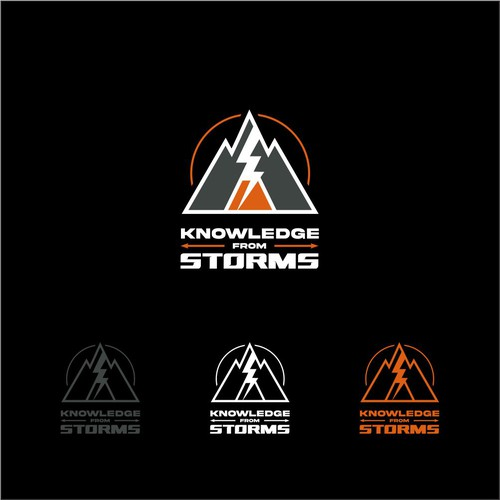one of kind logo for a Backcountry Survival brand.