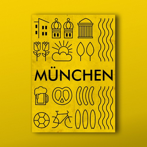 Poster for 99design office in Munich