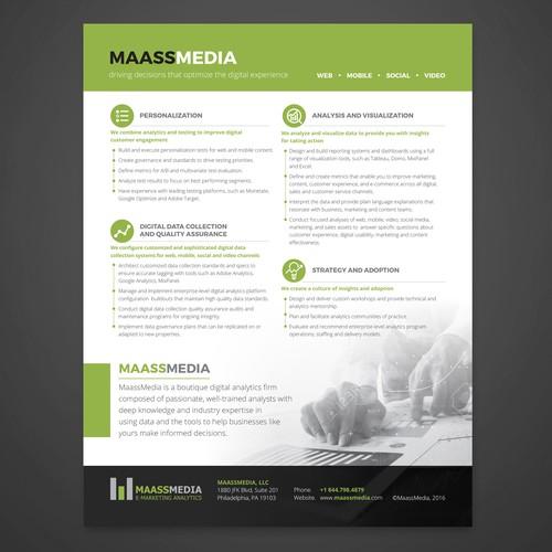 MASSMEDIA leaflet