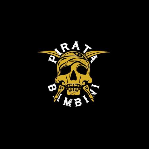 Logo concept for Bambini Pirata