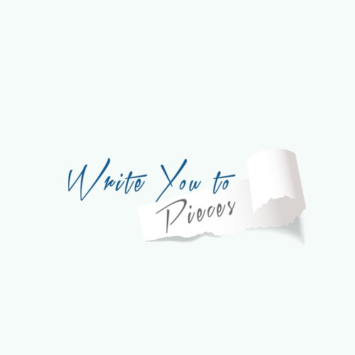 """Design an inviting logo for writing blog """"Write You to Pieces""""  capturing passion for writing"""