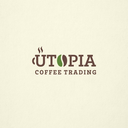 Clean and Versatile Wordmark Logo for a Coffee Trading Company