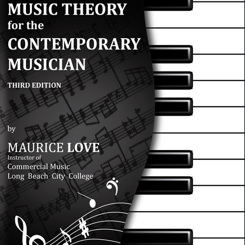 book or magazine cover for Commercial Music Theory Book