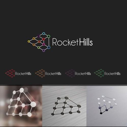 Logo concept for Rocket Hills