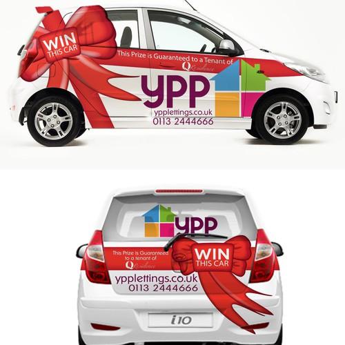 Prize Car Wrap